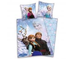 Disney Juego de funda edredón grupo Frozen 200x140 cm DEKB234111