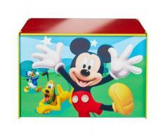 Disney Caja de juguetes Mickey Mouse azul 60x40x40 cm WORL119012