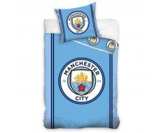 manchester city f c Manchester City Set de funda edredón infantil 200x140 DEKB402001