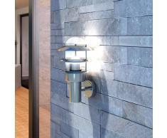 VidaXL Aplique de pared acero inoxidable, para exterior