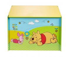 Disney Caja juguetes Winnie the Pooh 60x40x40 madera azul WORL104003