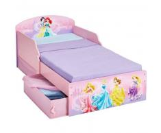 Disney Cama infantil cajones Princess 142x59x77 cm rosa WORL660018