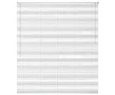 VidaXL Persiana aluminio 160x220 cm blanca