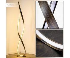 Lámpara de Pie Medle LED Color óxido, 1 luz - 2400 Lumen - Diseño - Zona interior - 3000 Kelvin - 2 - 4 días laborables .