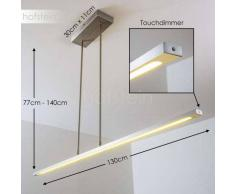 San Miguel Lámpara colgante LED Níquel-mate, 1 luz - 2000 Lumen - Diseño - Zona interior - 2700 Kelvin - 2 - 4 días laborables .