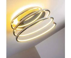 Sepino Lámpara de techo LED Cromo, 1 luz - 1000 Lumen - Diseño/vivienda Juvenil - Zona interior - 3000 Kelvin - 2 - 4 días laborables .