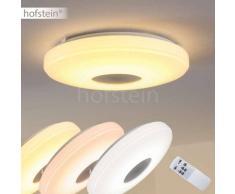 Lumsden Lámpara de techo LED Gris, 1 luz - 2500 Lumen - Diseño - Zona interior - 2700-5000 Kelvin - 2 - 4 días laborables .
