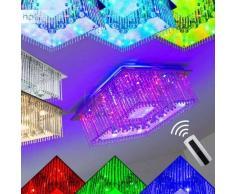 Globo Fragilis Lámpara de techo LED Cromo, 1 luz - 1900 Lumen - Moderno - Zona interior - 3000 Kelvin - 2 - 4 días laborables .