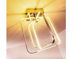 Sepino Lámpara de techo LED Cromo, 1 luz - 1100 Lumen - Diseño/vivienda Juvenil - Zona interior - 3000 Kelvin - 2 - 4 días laborables .