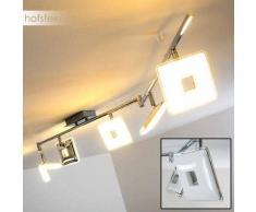 ERREZIL Lámpara de Techo LED Cromo, 6 luces - 1980 Lumen - Moderno - Zona interior - 3000 Kelvin - 2 - 4 días laborables .