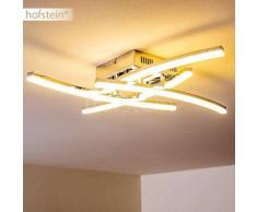 Campbellton Lámpara de techo LED Acero inoxidable, 4 luces - 360 Lumen - Moderno/Diseño/vivienda Juvenil - Zona interior - 3000 Kelvin - 2 - 4 días laborables .