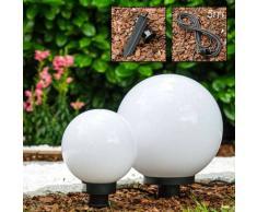 Miau Lámpara esféricas Blanca, 2 luces - - Simpre actuales - Zona exterior - - 2 - 4 días laborables .