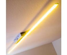 Casale Lámpara de techo LED Cromo, 1 luz - 960 Lumen - Diseño - Zona interior - 3000 Kelvin - 2 - 4 días laborables .
