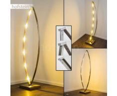 MILO Lámpara de pie LED Níquel-mate, Cromo, 6 luces - 240 Lumen - Moderno/Diseño - Zona interior - 2700 Kelvin - 4 - 8 días laborables .