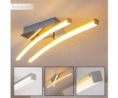 Georgina Lámpara de techo LED Cromo, 2 luces - 1000 Lumen - Diseño - Zona interior - 3000 Kelvin - 2 - 4 días laborables .