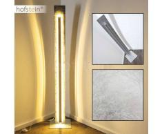 Peninsula Lámpara de pie LED Plata, 1 luz - 2400 Lumen - Diseño - Zona interior - 3000 Kelvin - 2 - 4 días laborables .