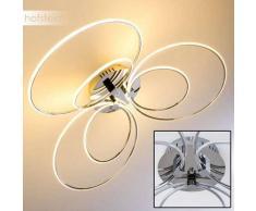 Matagami Lámpara de techo LED Cromo, 1 luz - 2100 Lumen - Diseño - - 3000 Kelvin - 2 - 4 días laborables .