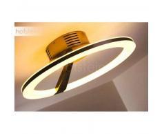 Tijuana Lámpara de techo LED Níquel-mate, 1 luz - 2700 Lumen - Diseño - Zona interior - 3000 Kelvin - 2 - 4 días laborables .