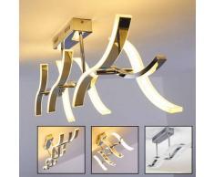 Lámpara de techo Andria LED Cromo, 6 luces - 2800 Lumen - Diseño - Zona interior - 3000 Kelvin - 2 - 4 días laborables .