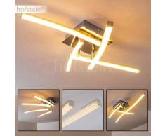 Georgina Lámpara de techo LED Cromo, 4 luces - 1200 Lumen - Diseño - Zona interior - 3000 Kelvin - 2 - 4 días laborables .