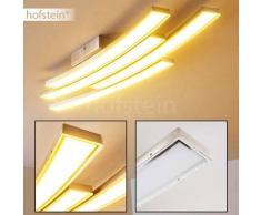 Deseronto Lámpara de techo LED Níquel-mate, 4 luces - 2600 Lumen - Moderno/Diseño - Zona interior - 3000 Kelvin - 2 - 4 días laborables .