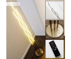 Mapleton Lámpara de pie LED Níquel-mate, 3 luces - 3120 Lumen - Diseño - Zona interior - 3000 Kelvin - 2 - 4 días laborables .