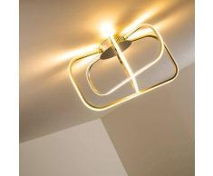 Serre Lámpara de techo LED Cromo, 1 luz - 1792 Lumen - Diseño - Zona interior - 3000 Kelvin - 2 - 4 días laborables .