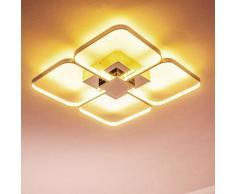 Sepino Lámpara de techo LED Cromo, 1 luz - 1500 Lumen - Diseño/vivienda Juvenil - Zona interior - 3000 Kelvin - 2 - 4 días laborables .