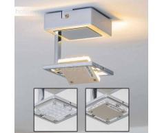 Guelph Lámpara de techo LED Cromo, 1 luz - 400 Lumen - Diseño - Zona interior - 3000 Kelvin - 2 - 4 días laborables .