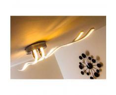 Corato Lámpara de techo LED Cromo, 1 luz - 2700 Lumen - Moderno - Zona interior - 3000 Kelvin - 2 - 4 días laborables .