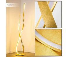 Lámpara de Pie Medle LED dorado, 1 luz - 2400 Lumen - Diseño - Zona interior - 3000 Kelvin - 2 - 4 días laborables .
