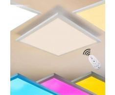 WABOS Lámpara de Techo LED Blanca, 1 luz - 2200 Lumen - Moderno - Zona interior - 3000/RGB Kelvin - 2 - 4 días laborables .