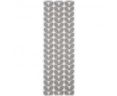 Brita Sweden Plástico Alfombra de pasillo tejido plano Karin Gris 70x100 cm