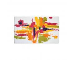 Grund Alfombrilla de baño Mezzo Multicolor/Blanco 70x120 cm