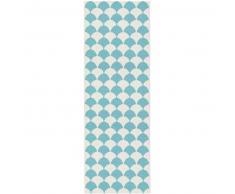 Brita Sweden Plástico Alfombra de pasillo exterior Gerda Turquesa 70x300 cm