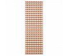 Brita Sweden Plástico Alfombra de pasillo tejido plano Gittan Rojo 70x100 cm