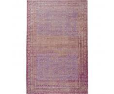 benuta Alfombra de tejido plano Frencie Morado 160x235 cm - Alfombra lisa para cocina, corredor y pasillo - fácil de limpiar
