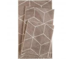 Esprit Alfombrilla de baño Flair Marrón 55x65 cm