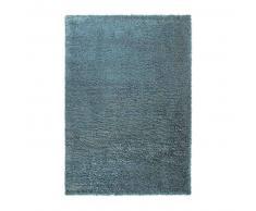 Esprit Alfombra pelo largo Cosy Glamour Azul 240x340 cm