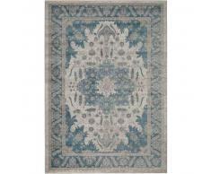 benuta Alfombra oriental Alaya Azul 160x230 cm - Alfombra clasica / tradicional