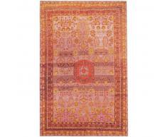 benuta Alfombra de tejido plano Stay Rojo 115x180 cm - Alfombra lisa para cocina, corredor y pasillo - fácil de limpiar