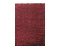 Esprit Alfombra pelo largo Cosy Glamour Rojo 200x200 cm