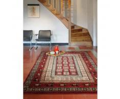 benuta Alfombra oriental Ariana Pathway Rojo 160x230 cm - Alfombra clasica / tradicional