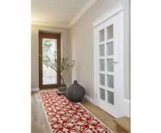 Benuta Alfombra de pasillo Kaleido Naranja 80x290 cm