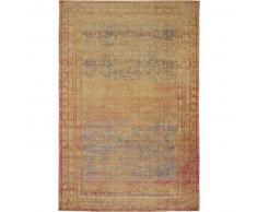 benuta Alfombra de tejido plano Frencie Beige 240x340 cm - Alfombra lisa para cocina, corredor y pasillo - fácil de limpiar
