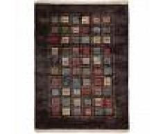 benuta Alfombra Gabbeh Marrón 200x300 cm - Alfombra oriental / clasica