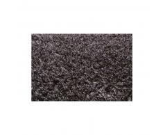 Esprit Alfombra pelo largo New Glamour Negro 200x200 cm