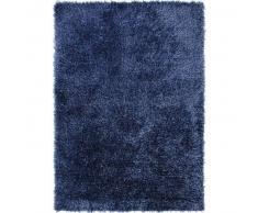 Esprit Alfombra pelo largo Cool Glamour Azul 140x200 cm