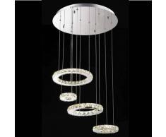 Lámpara de techo - LED de cristal 60cm - Goya