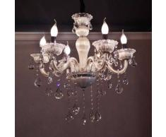 Lámpara de araña antigua 8 Luces - Roma